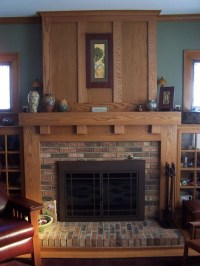 Fireplace Mantels - Craftsman - Fireplace Mantels - other ...