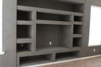 Phoenix Custom Media Walls - Industrial - Family Room ...