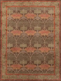 Rugsville Arts and Crafts 12012 8x10 Green Rug ...