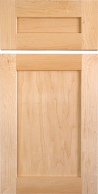 Shaker Style Cabinet Doors in Maple - Traditional ...