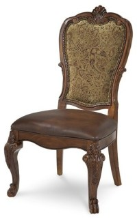 A.R.T. Furniture Old World Upholstered Back Side Chair ...