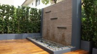 Water Walls Exterior - Home Decorating Ideas
