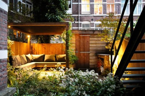 small city garden - contemporary