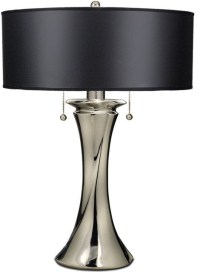 "26"" Double Pull Chain Table Lamp Polished - Transitional ..."