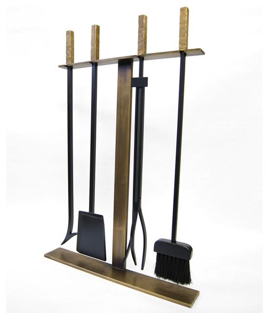 Ember  Modern  Fireplace Accessories  new york  by Tanmatra Lighting