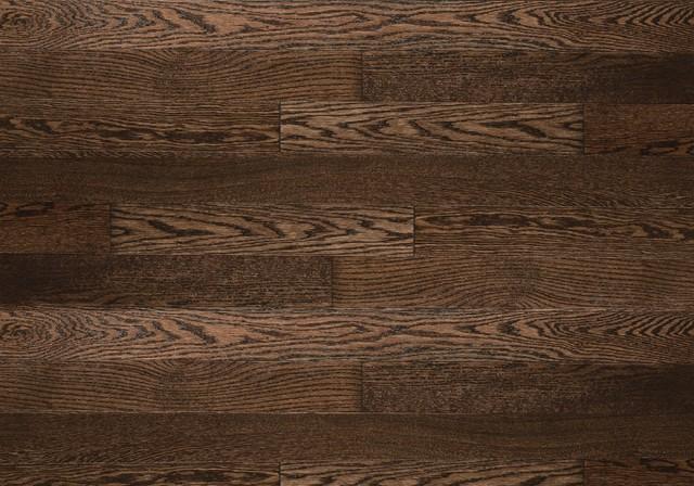 Chocolate Essential Red Oak Hardwood Flooring from Lauzon