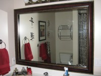 Mirror Frame Kit - Traditional - Bathroom Mirrors - salt ...