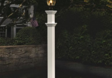 Decorative Outdoor Lamp Posts Wood