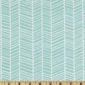 Modern meadow herringbone pond modern upholstery fabric by