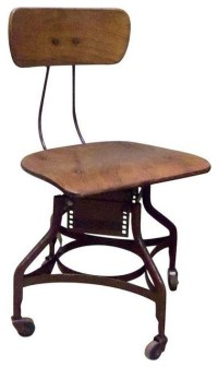 Pre-owned Antique Toledo Industrial Desk Chair ...