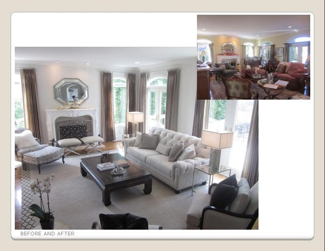 chadwick sofa how do you remove pen from leather ethan allen projects - traditional living room ...