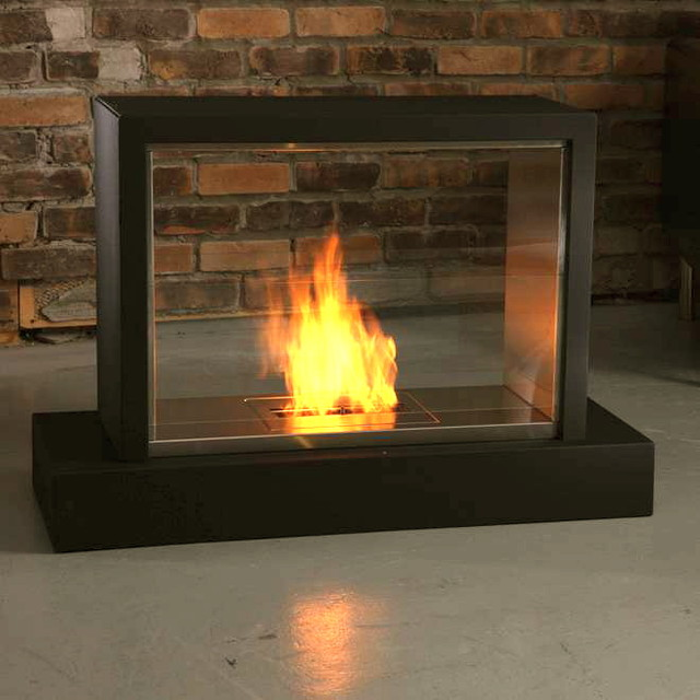 Ventless Gel Fireplace  Modern  Indoor Fireplaces  by Vicki Semke