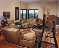 Asian Inspired Living Room - Asian - Living Room ...