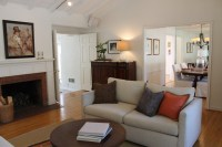 Great Room with Pottery Barn Style - Traditional - Living ...