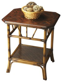 """Heritage 28"""" Lamp Table tropical-side-tables-and-end-tables"""