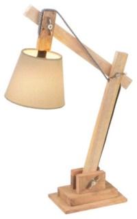 Wooden Adjustable Desk Lamp - Modern - Desk Lamps - by Dot ...