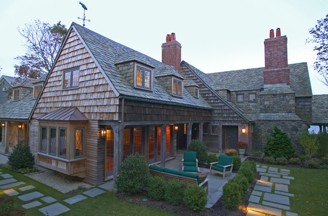 traditional exterior by Frank Shirley Architects