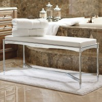Belmont Vanity Bench - Traditional - Shower Benches & Seats