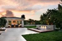 Outdoor Living Areas - Contemporary - Patio - orange ...