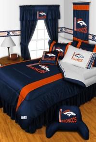 NFL Denver Broncos Bedding and Room Decorations - Modern ...
