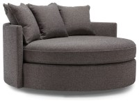 Jeanie Round Chair & 1/2 - Contemporary - Sofas - by ...