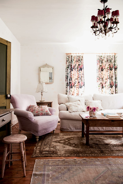 houzz dining room chair covers owl the prairie by rachel ashwell - shabby chic living amy neunsinger