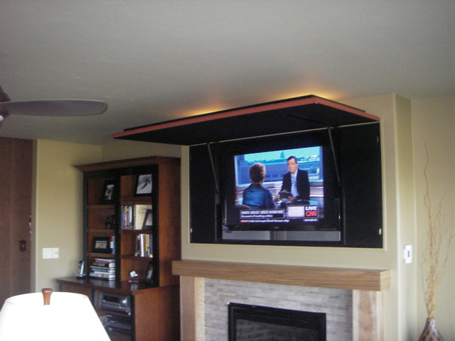 A Hidden Television Media Solution Eclectic Living