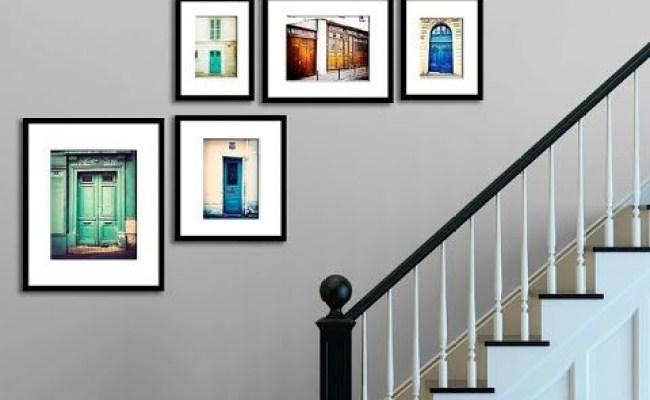 Staircase Wall Decorating Ideas Modern Other Metro