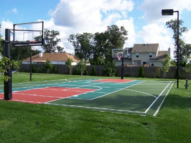 outdoor basketball court  DriverLayer Search Engine