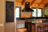 Colonial Farmhouse - Farmhouse - Kitchen - portland maine ...