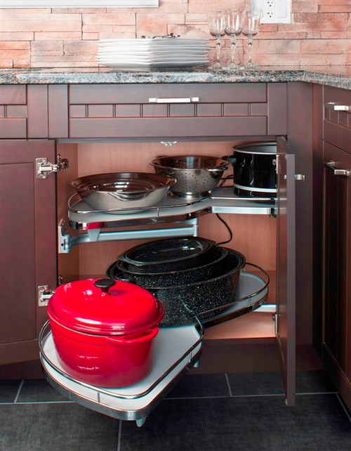 kitchen appliance store white wooden chairs creative ways to hide your small appliances sheknows put the tupperware somewhere else and use that no longer awkward space toaster oven waffle iron cake pop maker