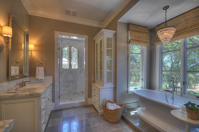 French Provincial Traditional Bathroom Sacramento