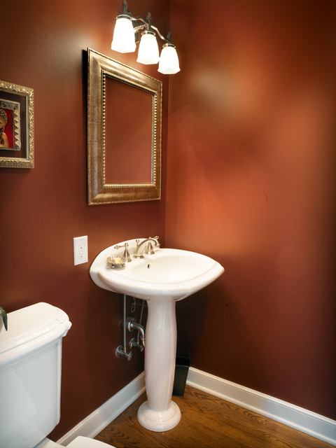 Bath 4055  Traditional  Powder Room  columbus  by JS