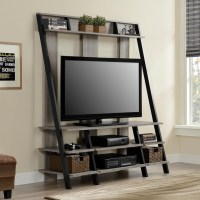 Sonoma Oak Ladder-style Home Entertainment Center ...