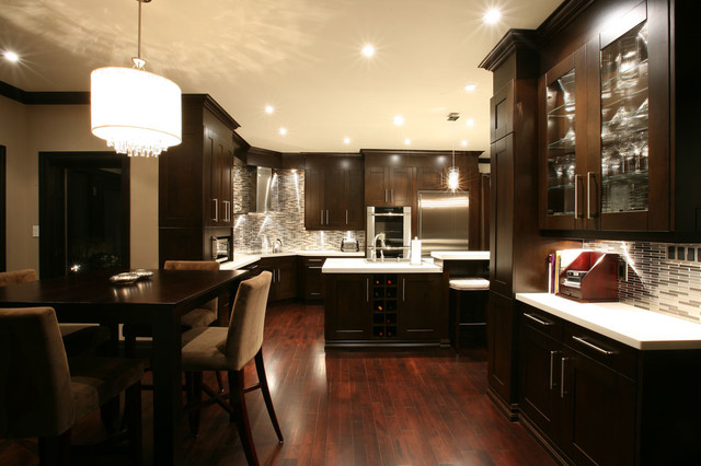 Transitional Gallery Contemporary Kitchen Toronto