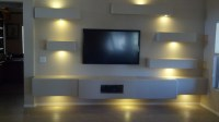 Phoenix Custom Media Walls - Traditional - Family Room ...