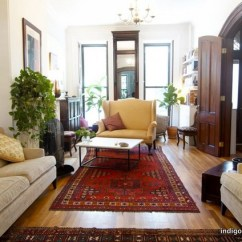 Kitchen Settee Primitive Cabinets Prospect Heights Brownstone - Eclectic Living Room New ...