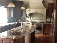 Florentine Cast Stone Kitchen Range Hood - Traditional ...
