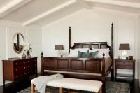 Cape Cod Style in Laguna Beach, CA - beach style - bedroom ...