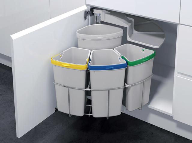 Kitchen Trash & Recycling OKO-3