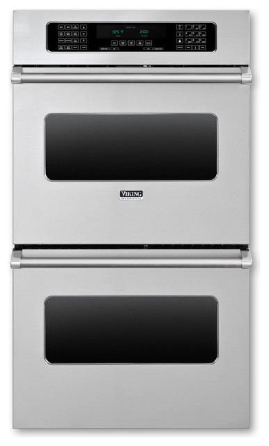 Viking 30 Double Electric Wall Oven Stainless Steel