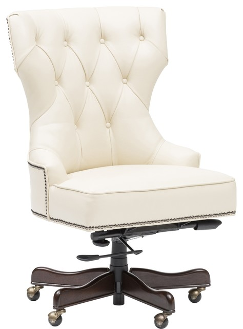 Executive Tufted Leather Chair  Office Chairs  by High