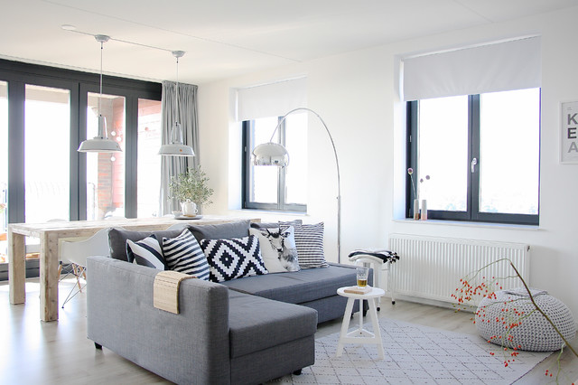 The home of Karlijn and Pieter contemporary-living-room