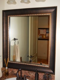 Mirror Frame Kit - Traditional - Bathroom - salt lake city ...
