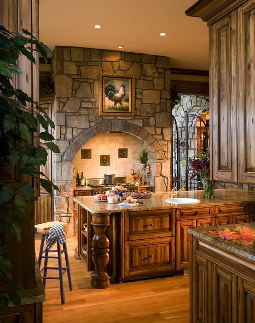 Modern Tuscan Kitchen Design