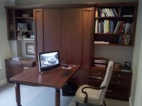 Office with a Murphy Bed 1