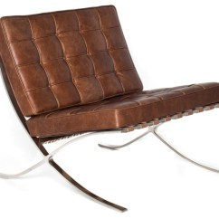 Florence Knoll Sofa Review Order Online Barcelona Chair In Newcastle Brown By Rove Concepts ...
