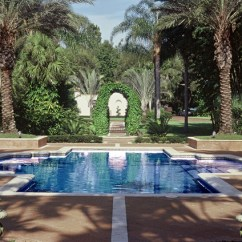 Hanging Rattan Chair Minimal Height Stand Test Formal Finesse - Mediterranean Pool Orlando By Bell Landscape Architecture Inc.