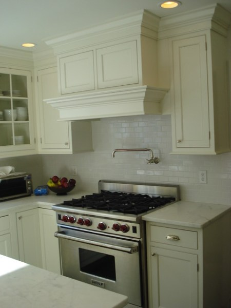 plain and fancy kitchen cabinets Plain and Fancy - Traditional - Kitchen - new york - by Cornerstone Kitchen Cabinets, Inc.