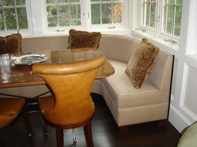 camden sofa bed original leather booths and banquettes - traditional dining benches ...